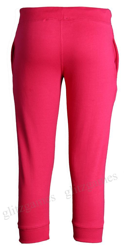 Womens-Ladies-Jogging-Bottoms-Joggers-Track-CAPRI-PANTS-3-4-PLUS-Size ...