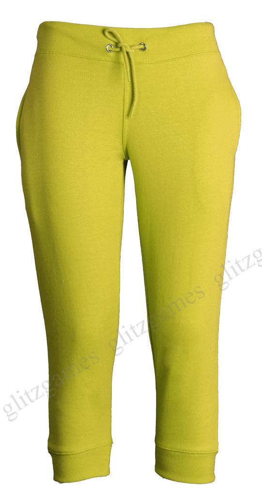 Womens ladies jogging bottoms joggers track capri pants 3 for A href text decoration