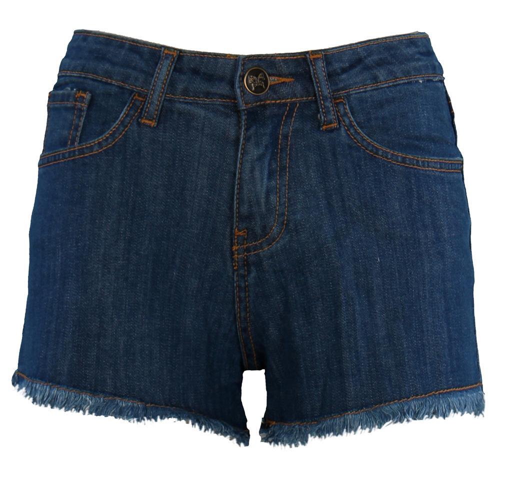 Womens-Ladies-Girls-Party-Casual-Hotpants-BLUE-DENIM-JEANS-SHORTS-HOT-PANTS