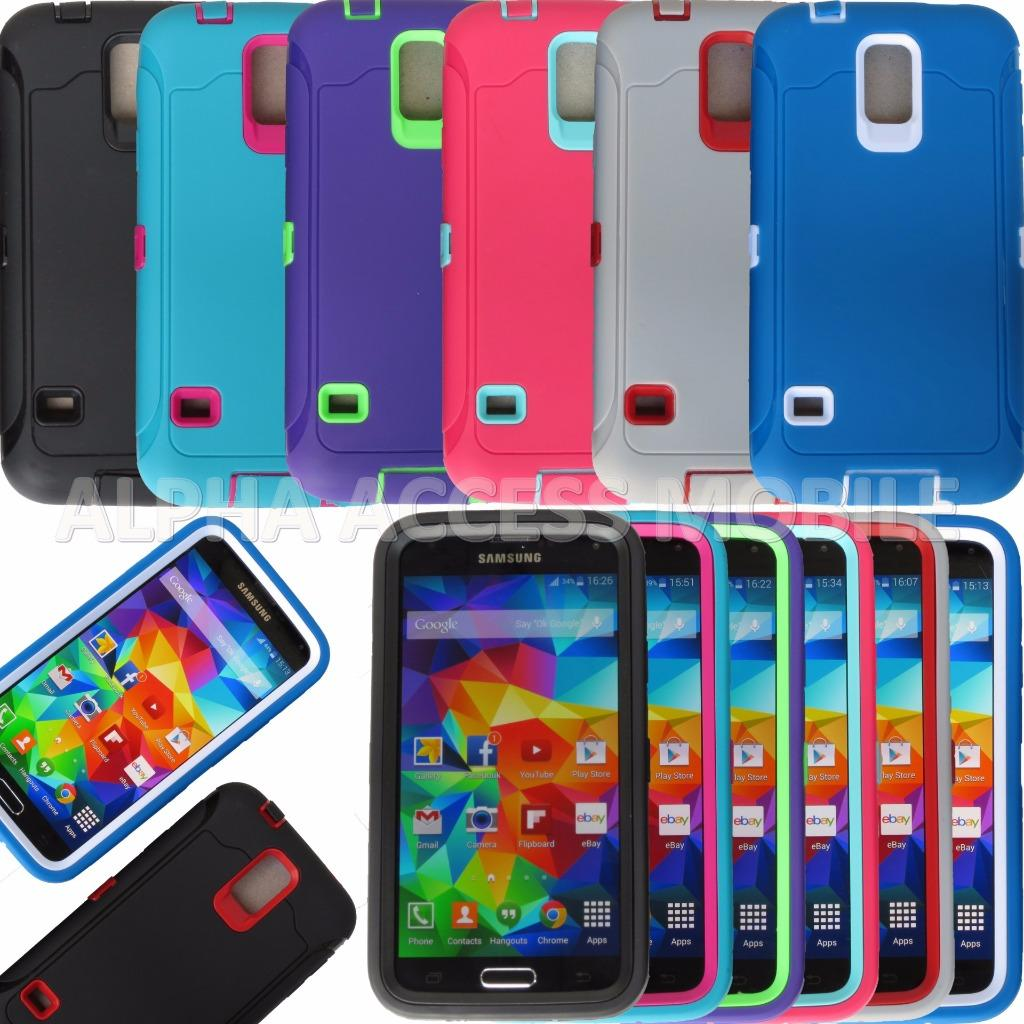 Hybrid Case For Samsung Galaxy S3 i9300, Galaxy S4 i9500, Galaxy S5