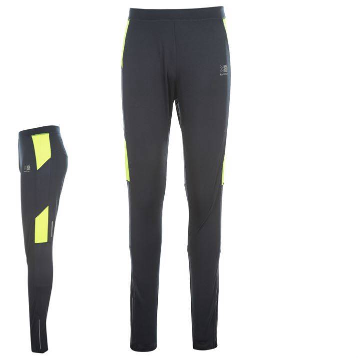 Karrimor Running Tights Mens Lightweight Pocket Zip Ankles Run All sizes XS-XXL | eBay