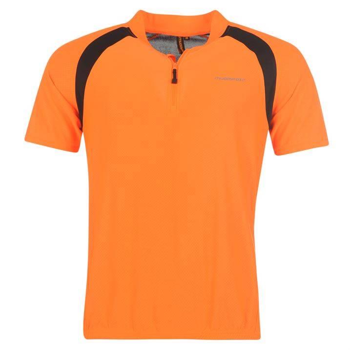 Muddyfox Cycling Short Sleeved Jersey Mens T Shirt Cycle