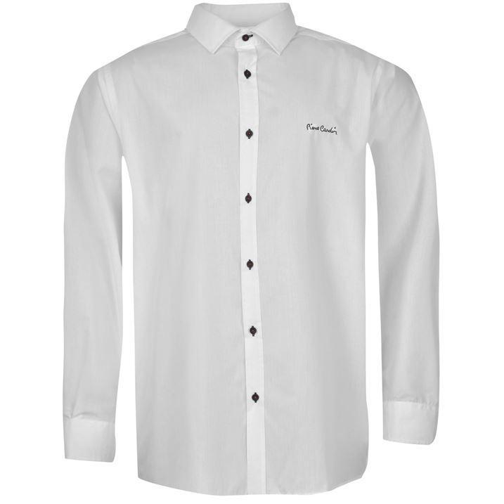 Pierre Cardin XL Shirt Mens Formal Long Sleeve ~ Big King Sizes 3XL 4XL 5XL 6XL