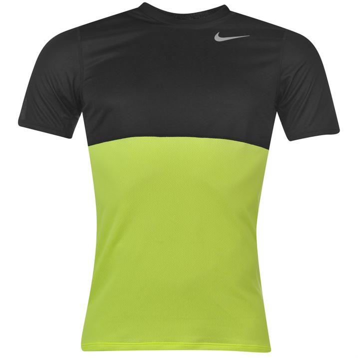 Nike racer running t shirt mens dri fit nike swoosh top for I run for meg shirts