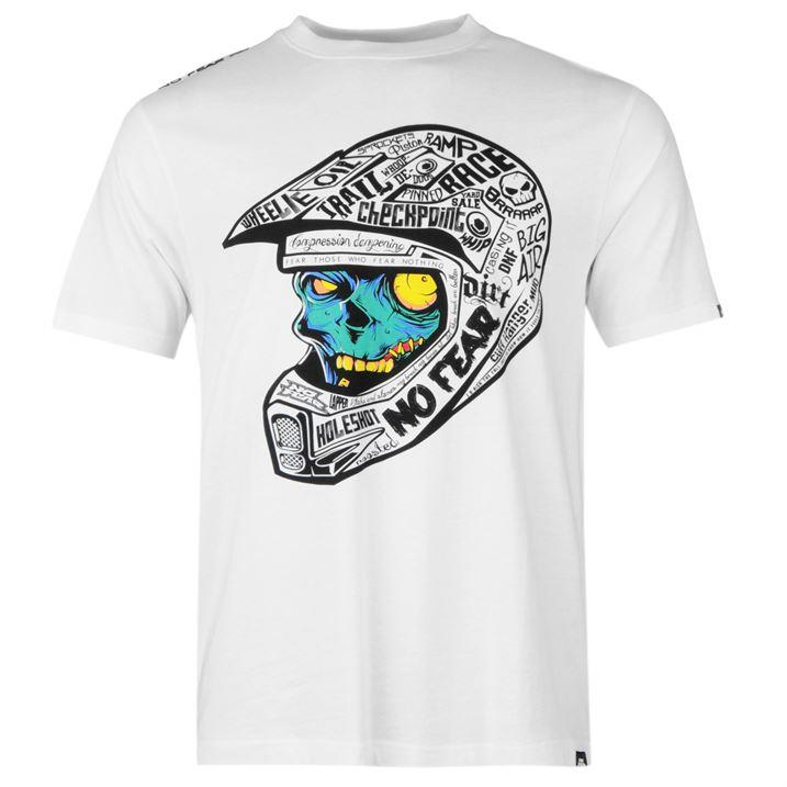 No fear moto print t shirt mens motocross graphic top all for T shirt print dimensions