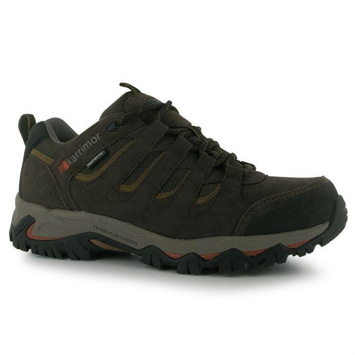 karrimor mount low mens walking shoes hiking boots waterproof all size 7 15 ebay