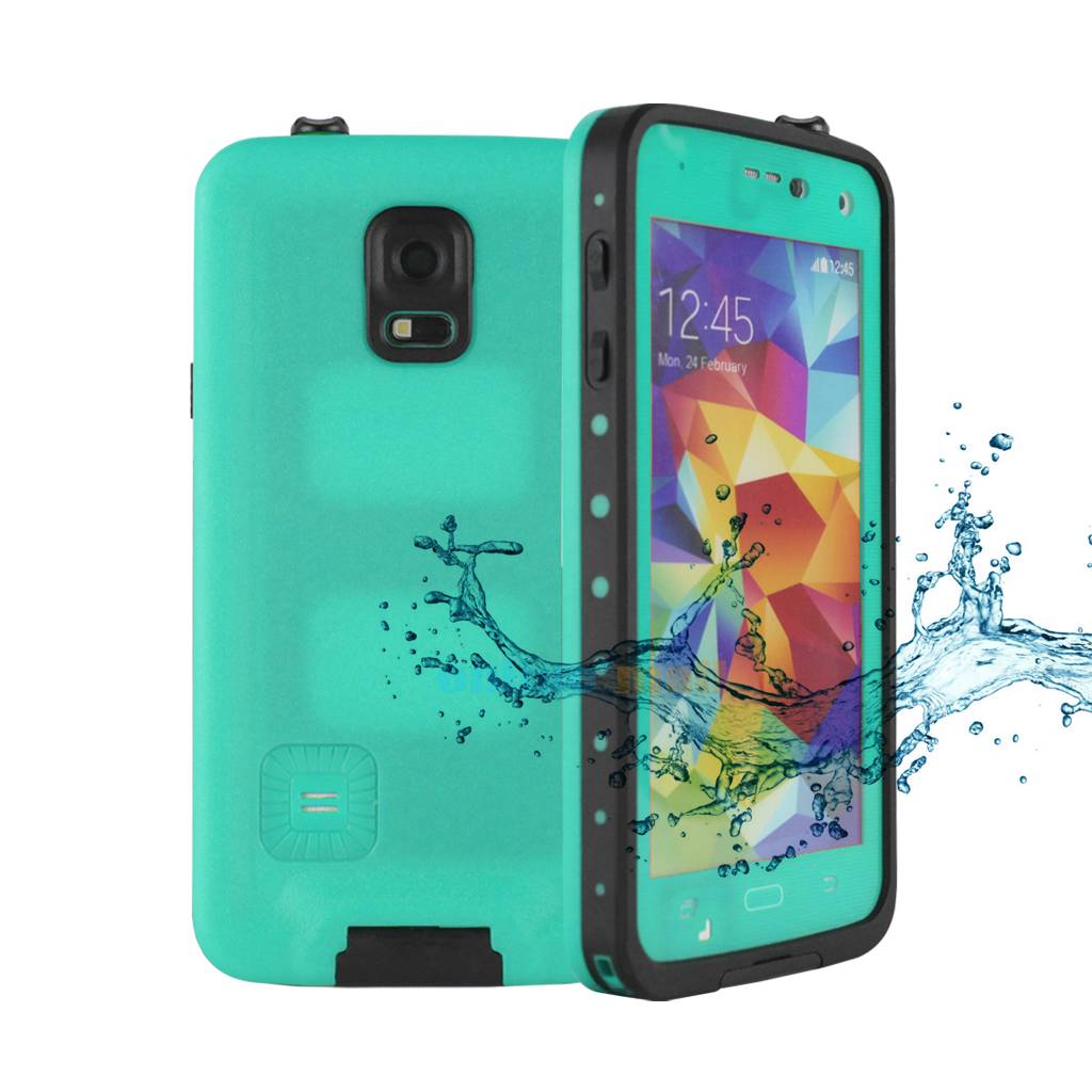 NEW Premium Waterproof Shock Dirt Snow proof Case Cover SAMSUNG GALAXY S5 I9600