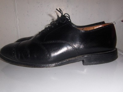Mens ALLEN EDMONDS Fifth Avenue captoe oxford Shoes 8.5 D