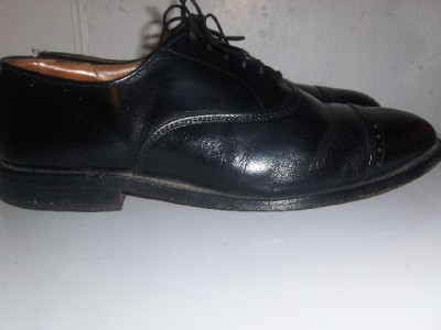 Mens ALLEN EDMONDS Fifth Avenue captoe oxford Shoes 8.5 D