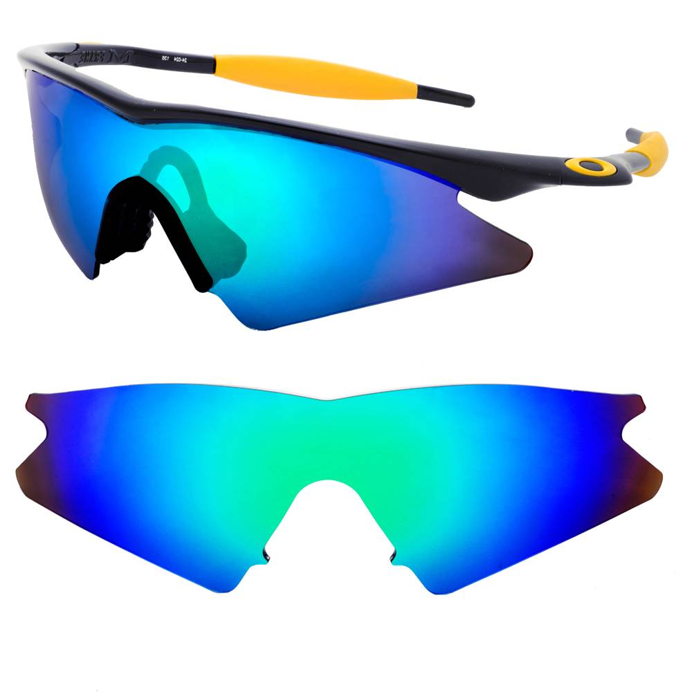 new maven polarized replacement lenses for oakley m