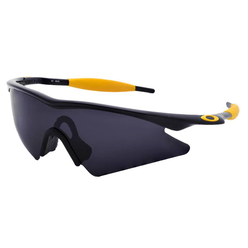 oakley 4 1 squared polarized lenses  polarized solid-black