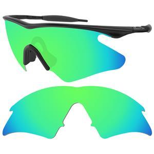 polarized lenses for oakley gascan  polarized-emerald green