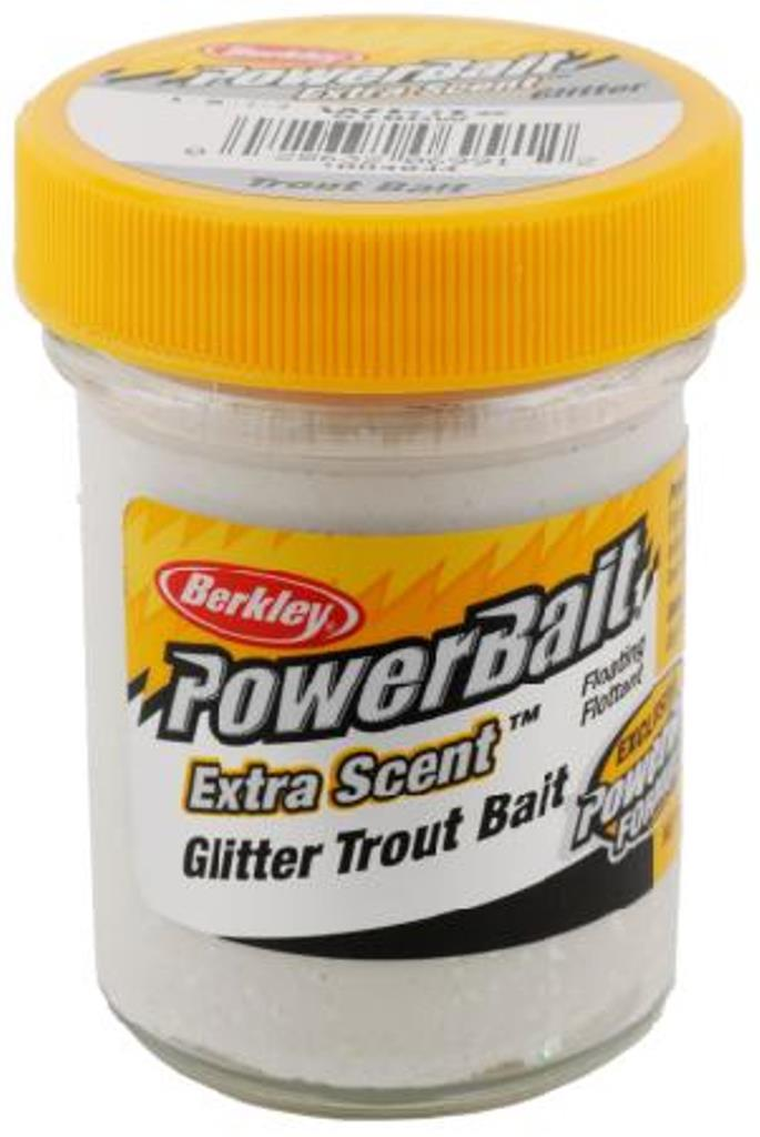 Berkley powerbait dough glitter trout freshwater fishing for Best bait for freshwater fishing