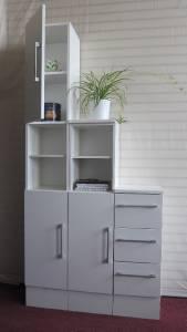 new argos hygena bathroom study room furniture cabinet