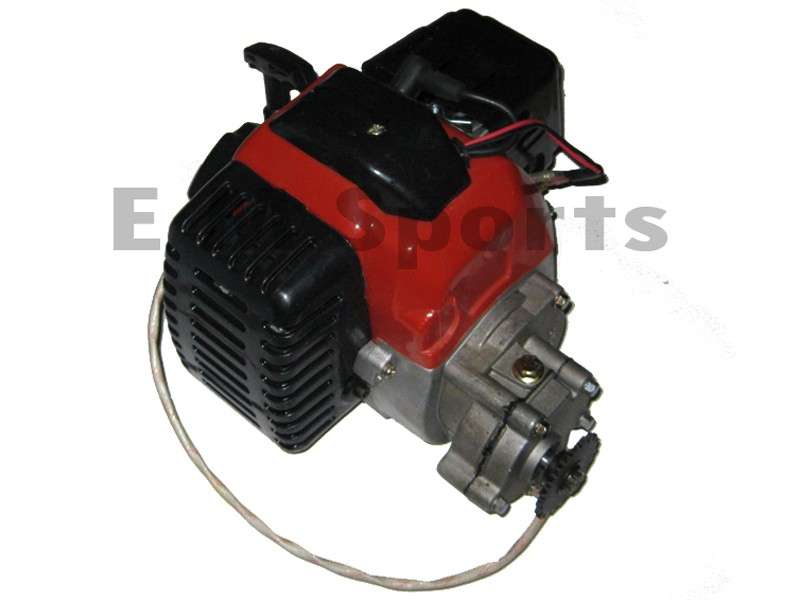 2 Stroke Super Mini Pocket Bike Engine Motor 49cc Parts w Electric – Diagram Of Scooter Engine