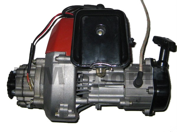 2 Stroke Super Mini Pocket Bike Engine Motor 49cc Parts Ebay