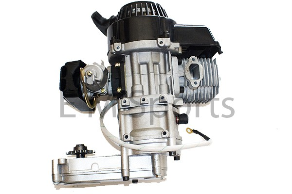 Mini moto dirt bikes engine motor 49cc w electric start ebay for How to make an electric bike with a starter motor