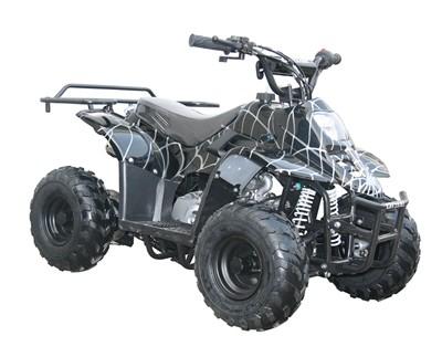 ATV Quad Go Kart Wheel Tire Rims Combo 145 70 6 Black