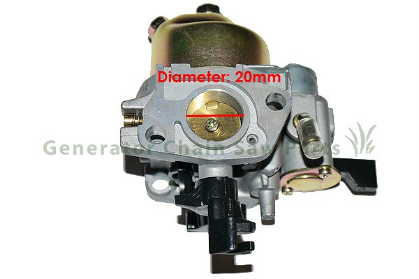 Carburetor carb harbor freight greyhound 196cc 6 5hp for Harbor freight blower motor