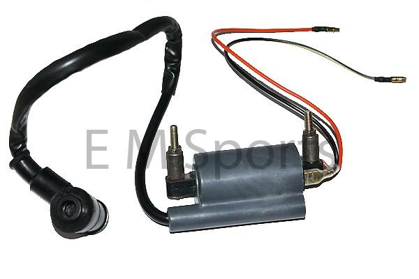 Four Wheeler Coils : Atv quad trike wheeler ignition coil module part for
