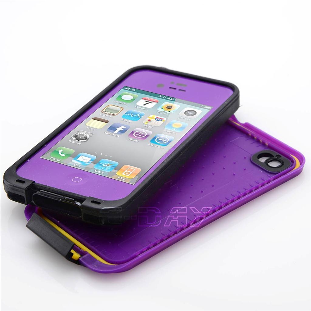 NEW WATERPROOF SHOCKPROOF DIRTPROOF CASE For IPhone 4 4S