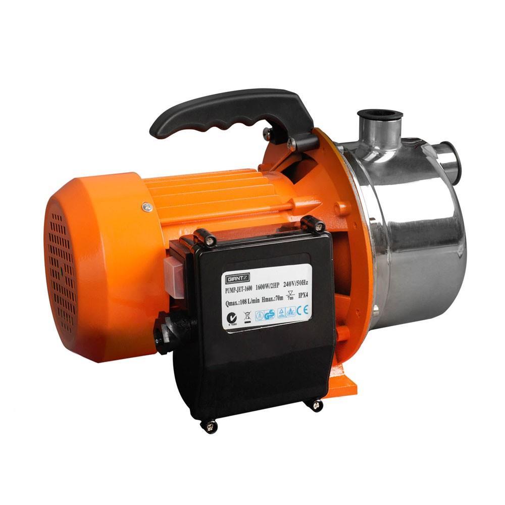 Stainless steel high pressure jet water tank pump garden for Gartenpool pumpe