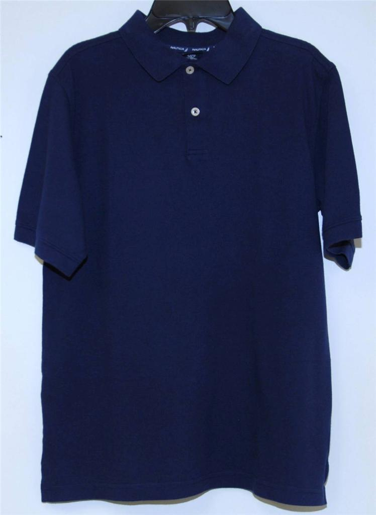 school uniform navy blue polo shirts