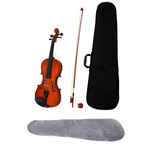 Fine-Classical-Wooden-4-4-Violin-w-Carry-Case-Ideal-for-Learner-NEW