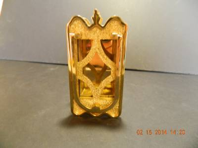 Antique speak easy brass peep hole cover door knocker combo unused nice ebay - Door knocker with peep hole ...