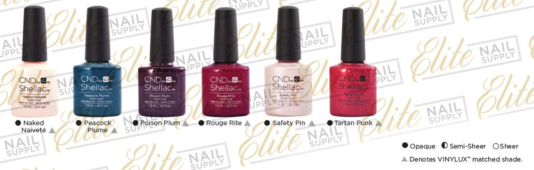 CND SHELLAC UV Color Coat 7.3ml - Contradictions Collection + FREE CND