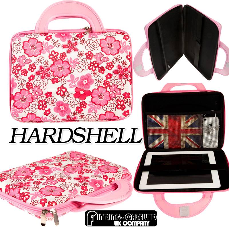 """UNVERSAL HARD SHELL CARRY BAG COVER CASE FOR Various 8.9"""" to 10.1"""" Tablet PC"""