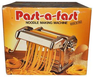 past a fast pasta machine