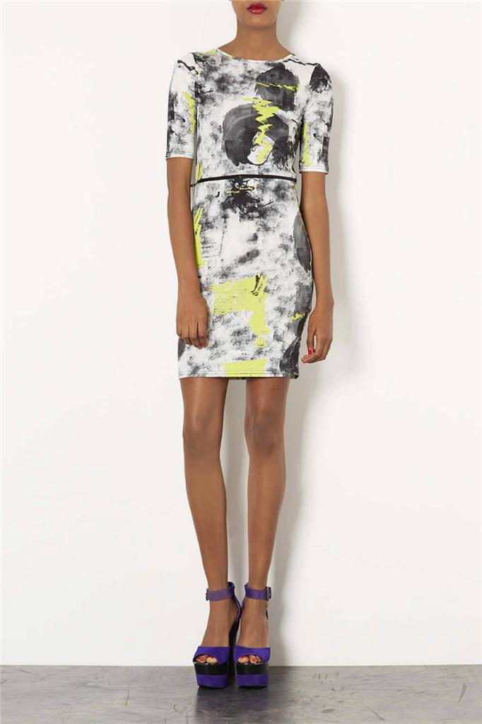 Topshop-Scribble-Dress-BRAND-NEW-UK-6-8-10-12