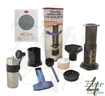 Latest AeroPress Coffee Maker + Able Fine + Mini Porlex Ceramic Burr Grinder eBay