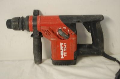 hilti te 15 c sds rotary hammer drill w case. Black Bedroom Furniture Sets. Home Design Ideas