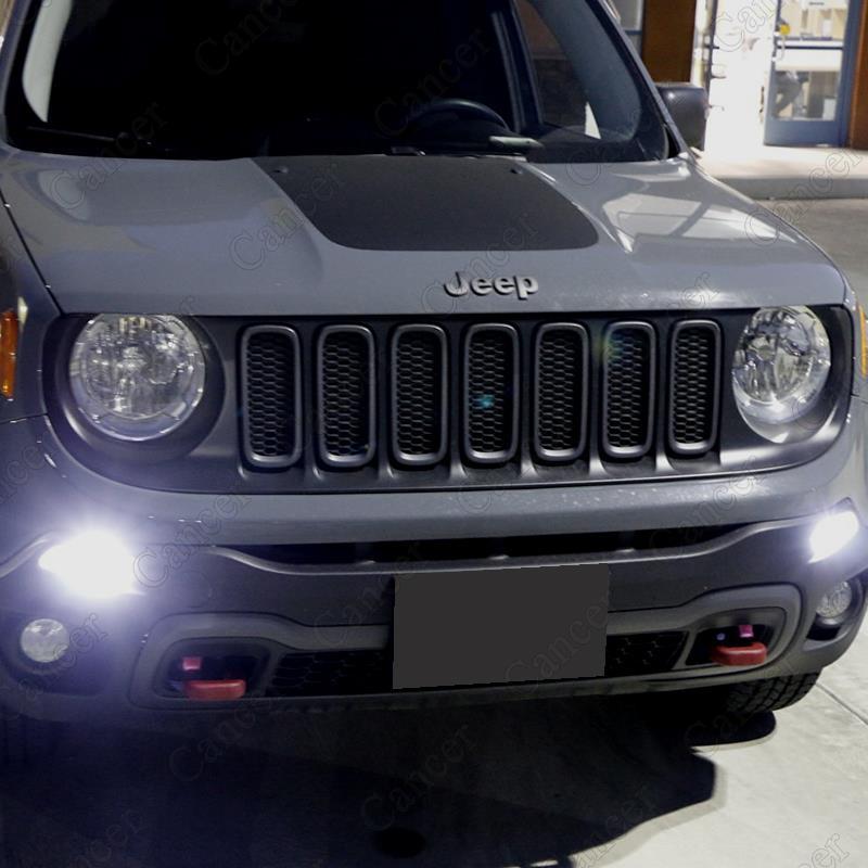 Led Lights Jeep Renegade: 2pcs Xenon White LED Bulbs For 2015-up Jeep Renegade
