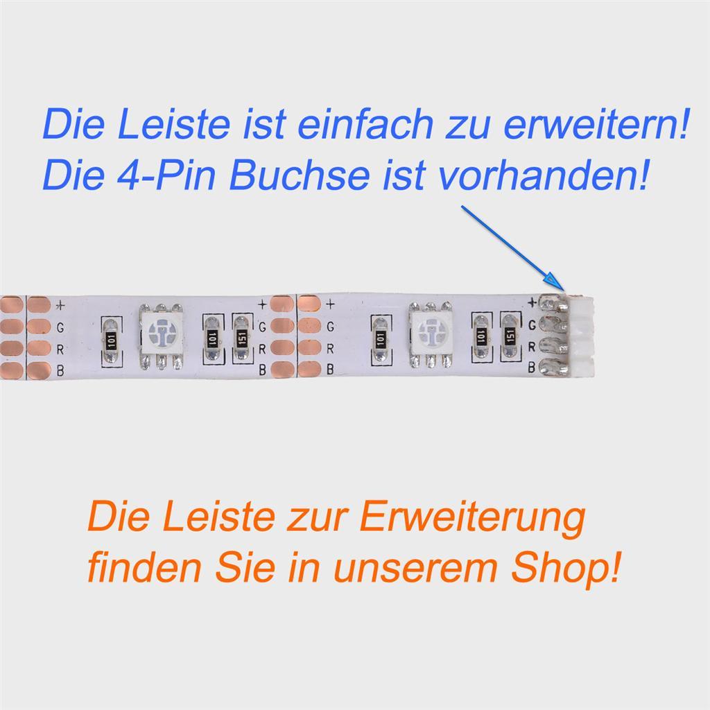 50cm led rgb leiste strip e batterie box mini controller batteriebetrieben ebay. Black Bedroom Furniture Sets. Home Design Ideas