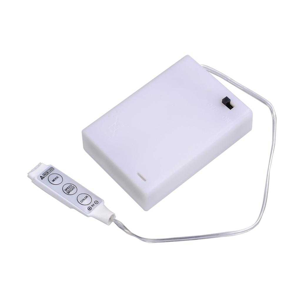 batteriehalter schalter mini controller f led rgb mehrfarbig produkte 4 5v ebay. Black Bedroom Furniture Sets. Home Design Ideas
