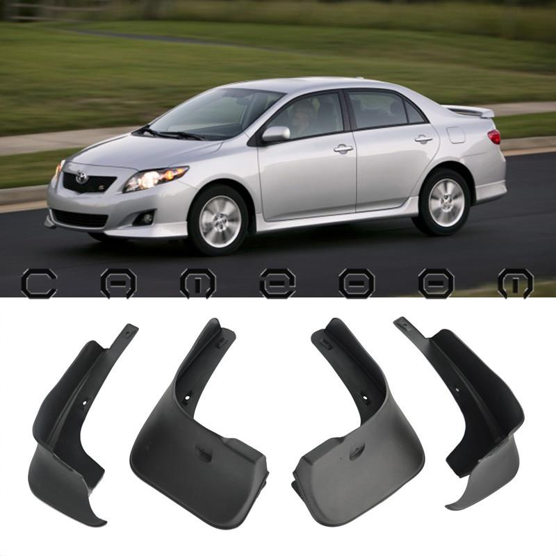for 2008 2010 toyota corolla 4 doors mud flaps splash. Black Bedroom Furniture Sets. Home Design Ideas