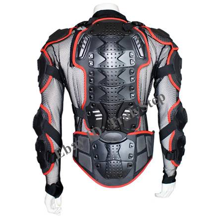 peto moto cross enduro quad chaqueta chaleco proteccion rojo s m l xl xxl xxxl ebay. Black Bedroom Furniture Sets. Home Design Ideas