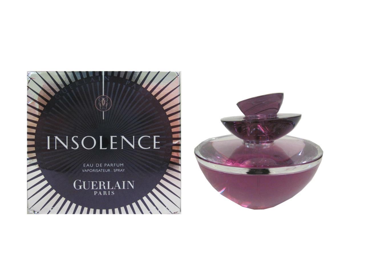 insolence 3 3 oz eau de parfum spray for women no cellophane wrap by guerlain ebay. Black Bedroom Furniture Sets. Home Design Ideas