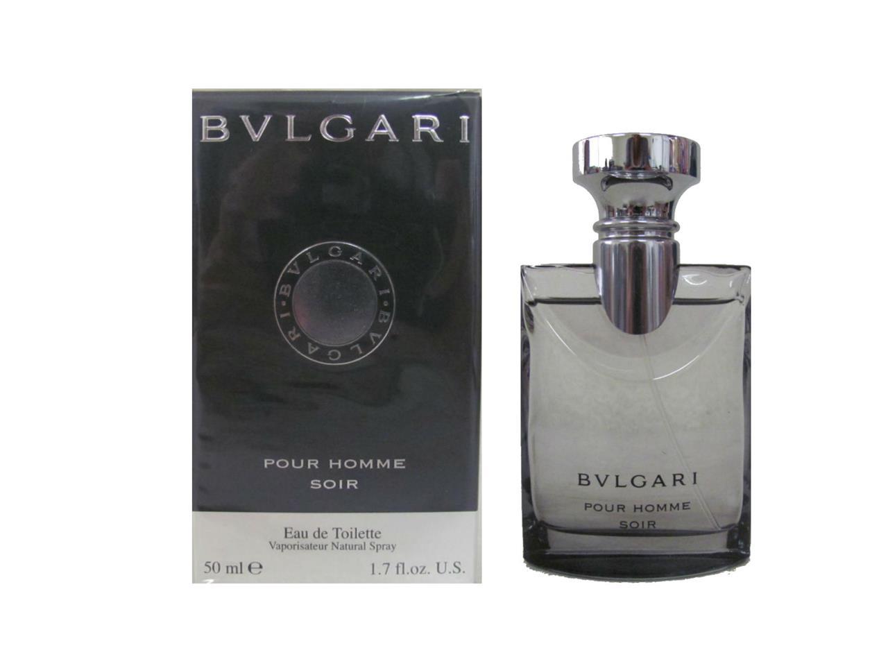 bvlgari pour homme soir 1 7 oz eau de toilette spray for. Black Bedroom Furniture Sets. Home Design Ideas