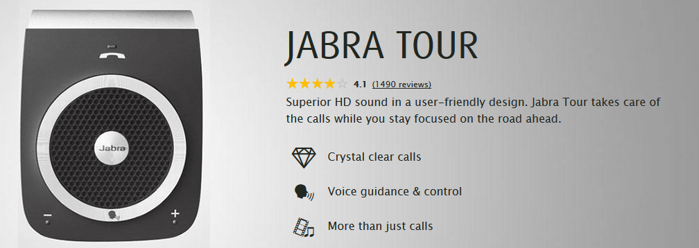 Jabra Tour Handsfree Car Kit