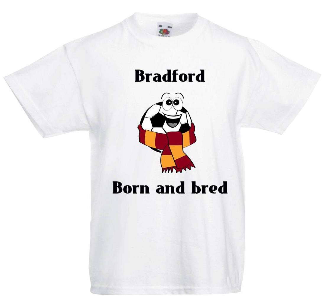 bradford city football personalised child 39 s t shirts 3 designs ebay. Black Bedroom Furniture Sets. Home Design Ideas