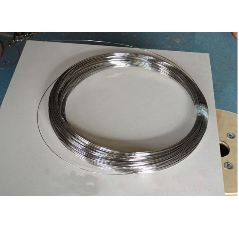 Stainless steel wire single bright hard