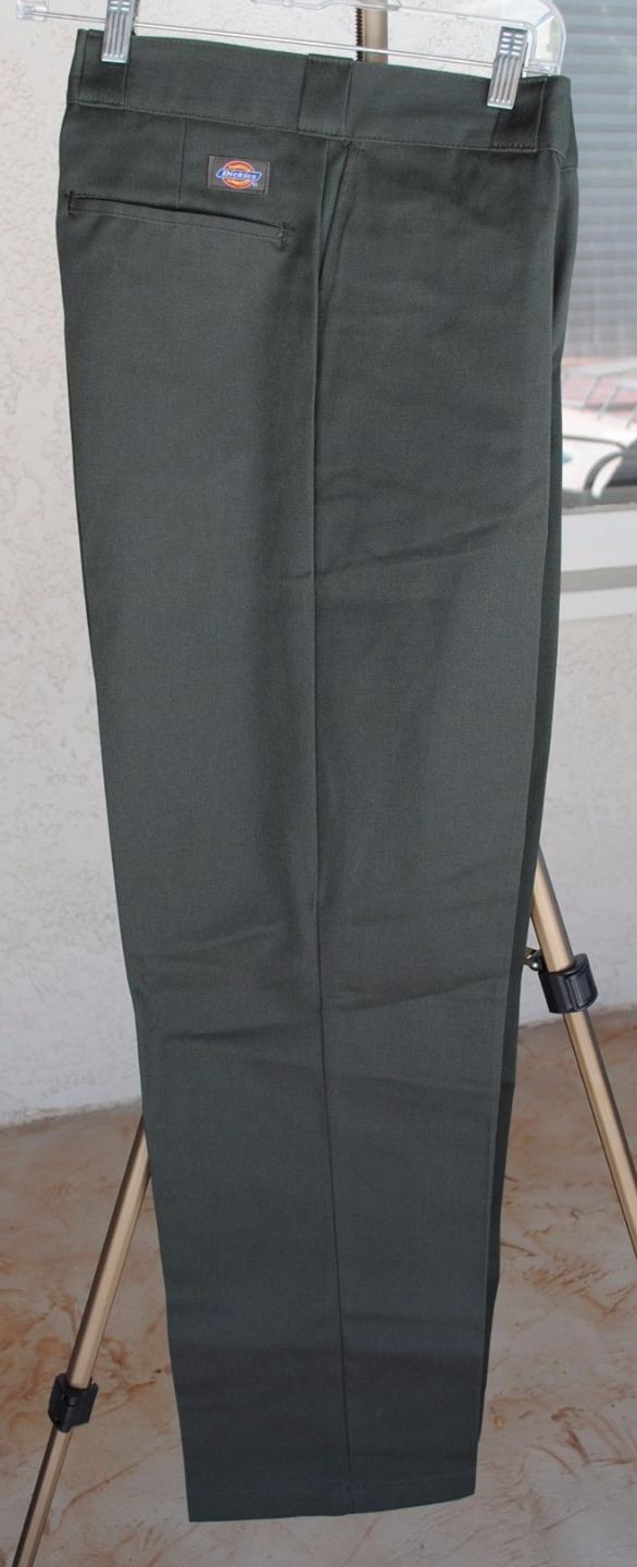 nwt dickies work pants original classic fit 874 40 42 44 46 48 ebay. Black Bedroom Furniture Sets. Home Design Ideas