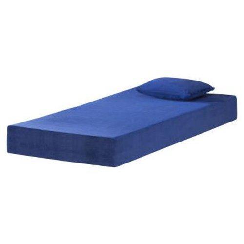 Twin Or Full Size Swirl Gel Visco 6 Memory Foam Mattress Blue Ebay