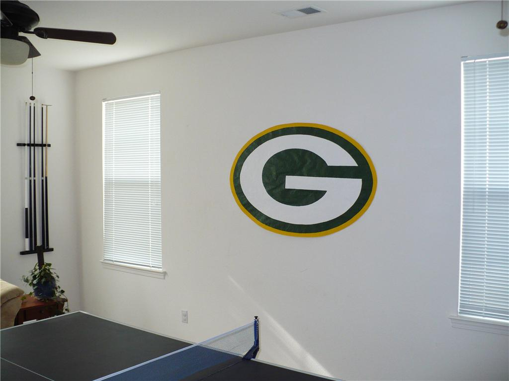 Green bay packers wallpaper mural nfl football decor ebay for Bay view wall mural