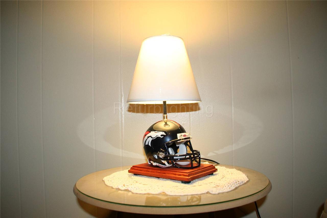 Football Helmet Table Lamp : Manufacturers direct nfl team mini helmet table lamp with