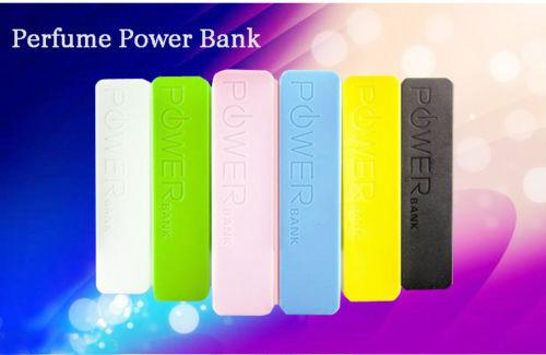 2600mAh External Portable Power Bank Easy Battery USB Charger For iPhone Mobile
